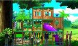 Спортивная площадка Themd джунглей детей занятности Cheer крытая