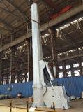 Torretta unipolare unipolare e di telecomunicazione d'acciaio galvanizzata elettrica
