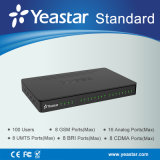 Conception modulaire de Yeastar (port de FXS/FXO/GSM/BRI) Ippbx
