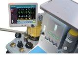 セリウム(SC-AX700)が付いている換気装置の麻酔機械が付いているタッチ画面