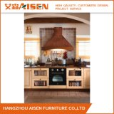 Modèle modulaire américain de cuisine en bois solide de Module de cuisine de type d'île