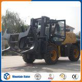 Chinesischer Diesel 3500kg der Fabrik-4.5m aller raues Gelände-Gabelstapler