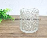 Держатель для свечи стеклянного корабля кристаллический для украшения венчания