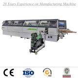 Borde automático de la precintadora de borde que pega la máquina