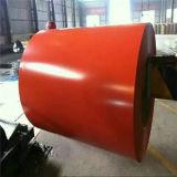 Bobina de acero galvanizada prepintada de acero del material de construcción del metal de Dx51d