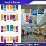 Tailles faites sur commande de drapeau de câble de couleur de Digitals de polyester brillant d'impression