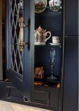 Barra Home luxuosa de madeira do gabinete de cozinha da madeira contínua