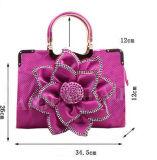 Bolsas bonitas da flor com o costume impresso