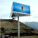 Dois lados Expressway Ad Board Billboard Steel Polos