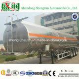 50cbm Hallo-q Aluminum Fule Tank Semi Trailer Shengrun Auto Liangshan