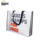 Venda por atacado barata reutilizável saco de compras tecido tecido PP