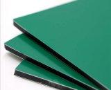 Pfosten-grüner Aluminiumplatten-Gebrauch für System-Vorderseite-Dekoration