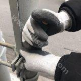 Естественным покрынная латексом перчатка работы на зима (LT2014)