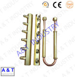 Saxpphone подгонянное CNC разделяет части /Brass/латунные горячие выкованные штуцеры