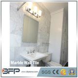 Tegel van uitstekende kwaliteit van de Muur van Carrara de Witte Marmeren voor Binnenhuisarchitectuur
