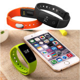 Pantalla OLED Bluetooth 4.0 pulsera inteligente para iPhone y Android