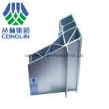 Perfis de alumínio usados transporte da extrusão