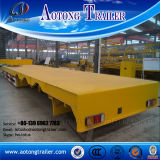 Direct Factory 3 60tons Essieux Low Bed Truck Semi-remorque
