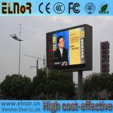 Digitas ao ar livre Comercial que anuncia o quadro de avisos do diodo emissor de luz do brilho P10 elevado