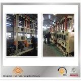 Neumático de goma de la motocicleta que cura la maquinaria de la prensa con el SGS de la ISO BV