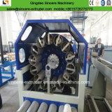 Boyau flexible de PVC \ extrudeuse de tissu-renforcé de tube faisant la machine