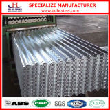 Roof를 위한 28 계기 Z150 Galvanized Corrugated Steel Sheet