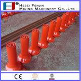 Heavy Duty Conveyor Rubber Roller voor Port-voorzieningen