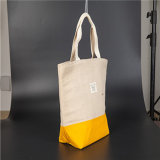 Saco de compra Foldable personalizado Eco-Friendly da lona do algodão do Tote do presente relativo à promoção do logotipo