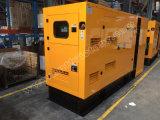 gerador 135kVA Diesel Soundproof com motor 1006tag de Lovol para projetos de edifício