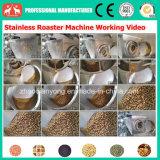 전문가 100kg/H 전기 충분히 304 스테인리스 커피 콩, 판매를 위한 Nuts 로스트오븐 기계