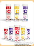 Fruity горячие продавая таблетки c естественного витамина 1000mg Effervescent