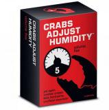 Los cangrejos ajustan el juego de tarjeta de papel de la humedad (1-4)
