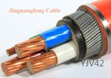 Cabo distribuidor de corrente de cobre de XLPE/PVC, fita de aço blindada