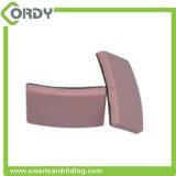 Temperatura alta de cerámica impermeable de la resistencia de la etiqueta del anti-metal de la frecuencia ultraelevada de ISO18000-6C