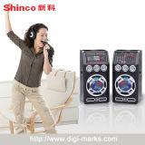 PRO audio con l'altoparlante del bene mobile della rotella del carrello della maniglia