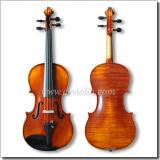As peças do ébano avançaram a mão - violino feito (VH200S)