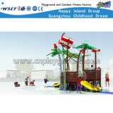 New Design Crianças Outdoor Water Playground Slide Equipment HD-Cusma1605-Wp006