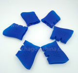 Blaue Farben-Silikon-Gummi-Gewehr-Griffe