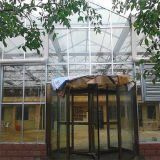 Venlo 유형 다중 경간 상업적인 유리제 온실