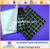 Construction EngineeringのためのHDPE Dimple Geomembrane