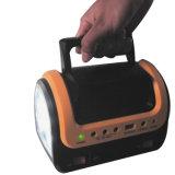 Sistema eléctrico solar de la iluminación casera portable del LED/lámpara solar del LED