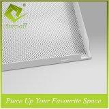 Carrelage au plafond perforé en aluminium