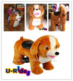 Plush Dog Kiddy Rides Toys for Kids