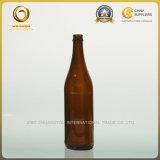Оптовое янтарное изготовление стеклянной бутылки пива 640ml (050)