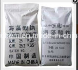 La alta calidad Brown textiles Grado alginato de sodio, como espesante