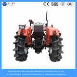 Landbouw/Farm/Mini Tractors 48HP 4WD met Implements/Rotary Tiller/Plough/Snow Blade/Mower/Trailer