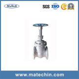 Wasser-Grooved motorbetriebener Absperrschieber des Soem-Präzisions-Edelstahl-304