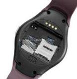 Круглый франтовской спорт Bluetooth Smartwatch тарифа сердца монитора сна шагомер вахты