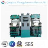 Double station en caoutchouc automatique traitant la machine de presse