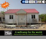 Casa prefabricada modular ligera del chalet de la estructura de acero